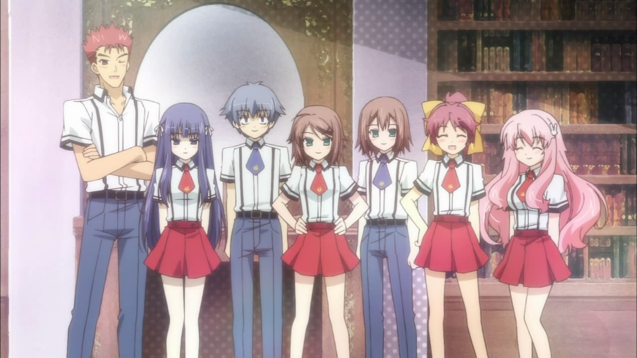 10,000 Anime Fans Voted for the Fictional Schools They Want to Study At haruhichan.com Fumizuki Academy Baka to Test to Shoukanjuu