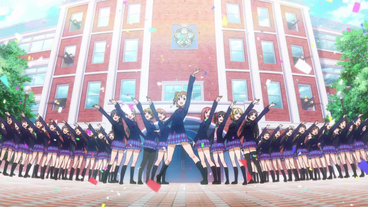 10,000 Anime Fans Voted for the Fictional Schools They Want to Study At haruhichan.com Otonokizaka High School Love Live! School Idol Project