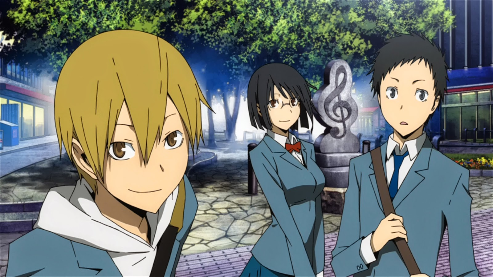 10,000 Anime Fans Voted for the Fictional Schools They Want to Study At haruhichan.com Raira Academy Durarara