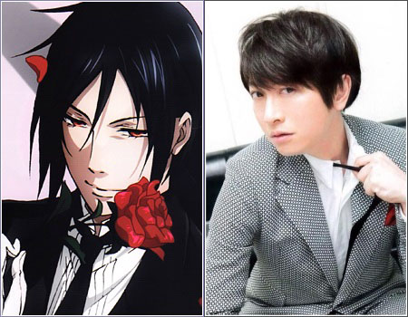 10,000 Anime Fans Voted for the Most Inappropriate Voices in Anime haruhichan.com Daisuke Ono as Sebastian Michaelis Black Butler