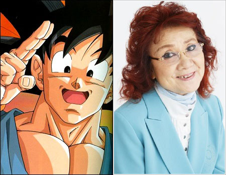 10,000 Anime Fans Voted for the Most Inappropriate Voices in Anime haruhichan.com Masako Nozawa as Son Goku Dragon Ball