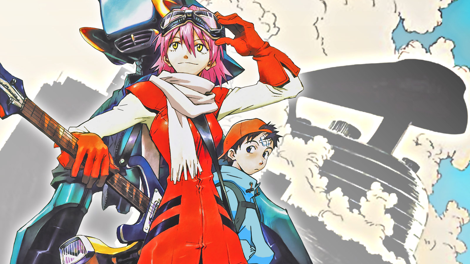 2 FLCL Seasons Announced to Be Produced by Toonami