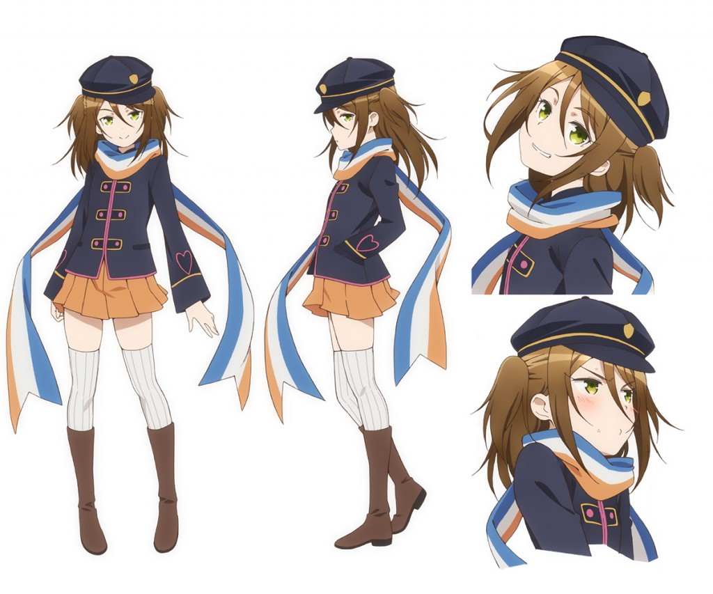 35 Shoutai Character Design Mari