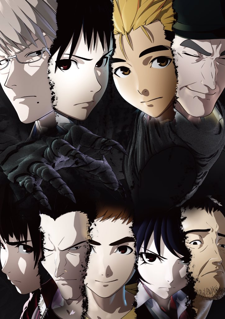 Ajin tv anime key visual