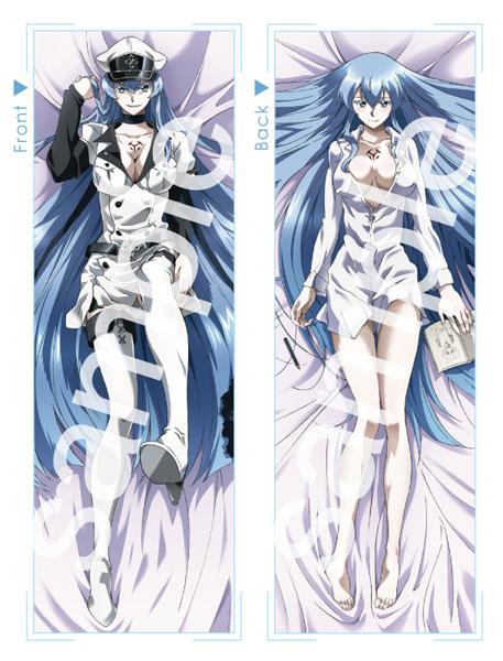 Akame ga Kill Mine and Esdeath Hug Pillows 1