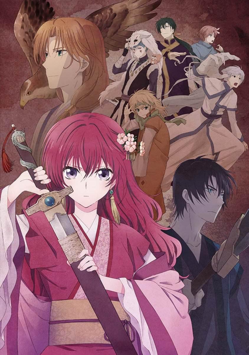 Akatsuki no Yona first anime visual haruhichan.com Yona of the Dawn anime