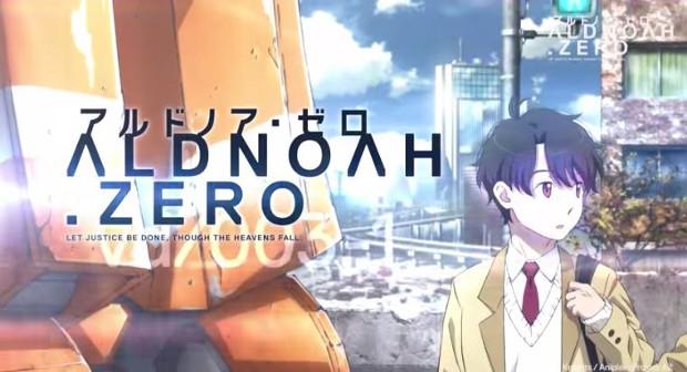 Alnoah.Zero anime 2014 mecha political sci fi action drama