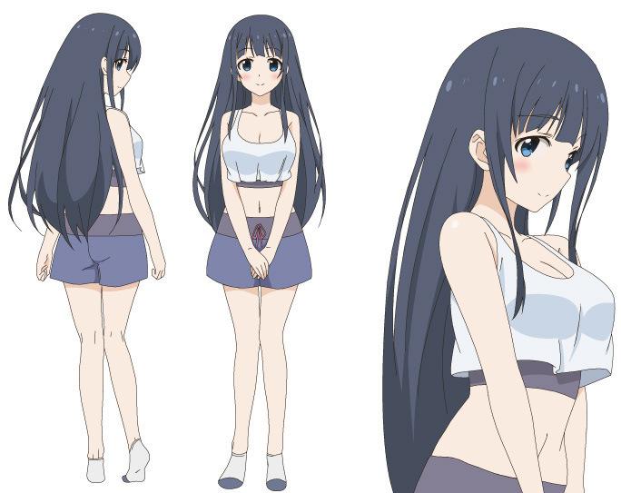 Ani Tore! EX character designs Shizuno Saotome