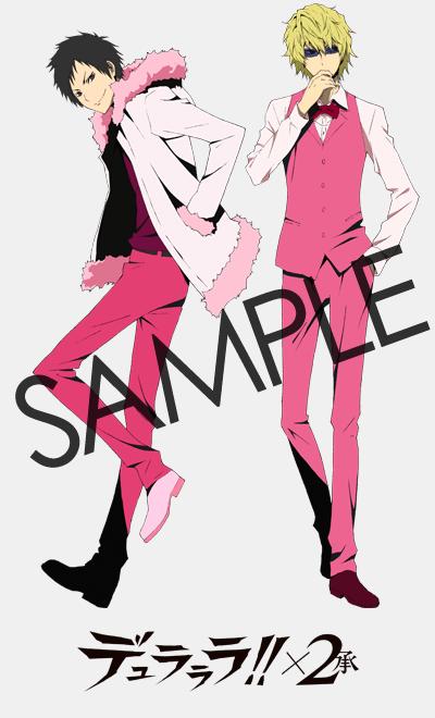 Anime Characters to Greet AnimeJapan 2015 Visitors durarara!! x2 shout