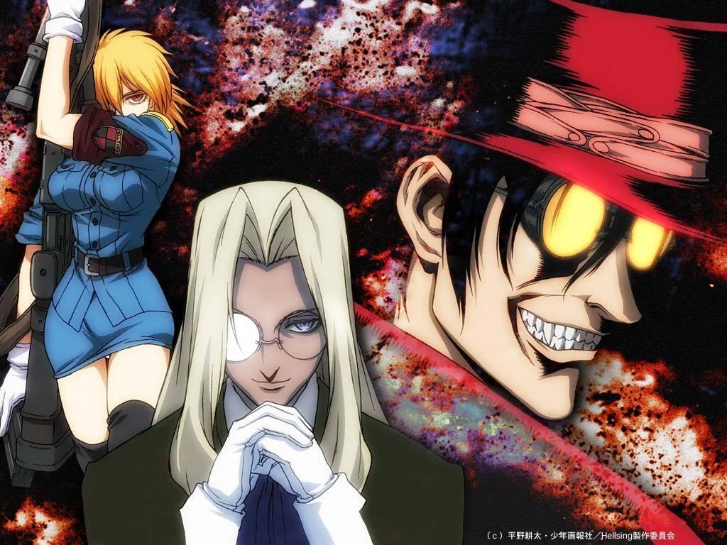 Anime Series You Should Check out during the Halloween Season haruhichan.com Hellsing Anime