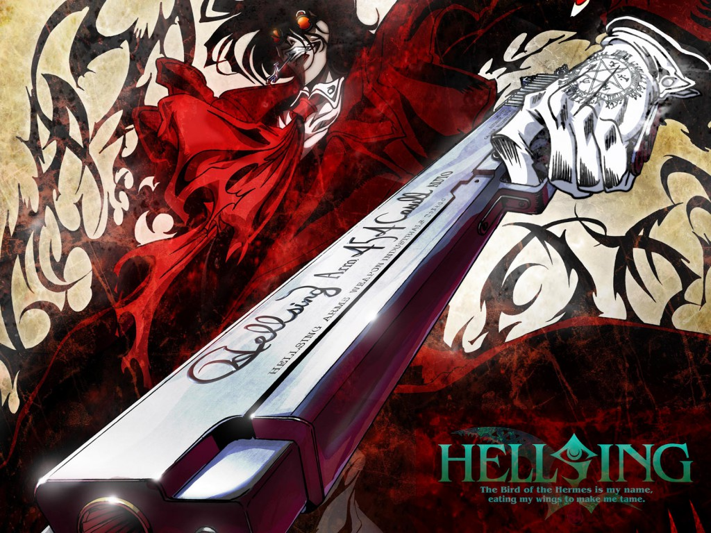 Anime Series You Should Check out during the Halloween Season haruhichan.com Hellsing Ultimate OVAs Anime