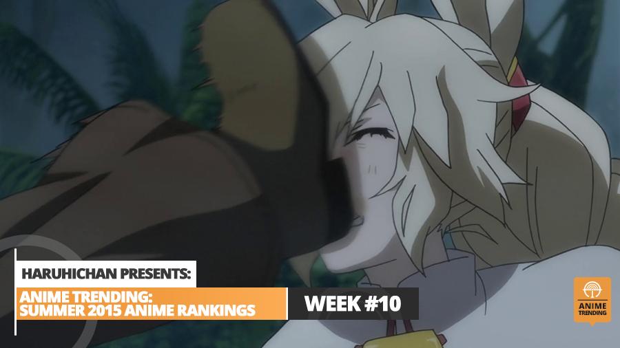 Anime Trending Rankings of Summer 2015 - Week 10 Main Image