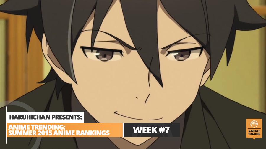 Anime Trending Summer 2015 Anime Ranking Week 7 Main Image