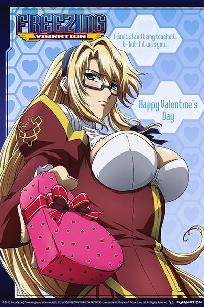 Anime Valentine's Day Cards haruhichan.com Freezing Vibration