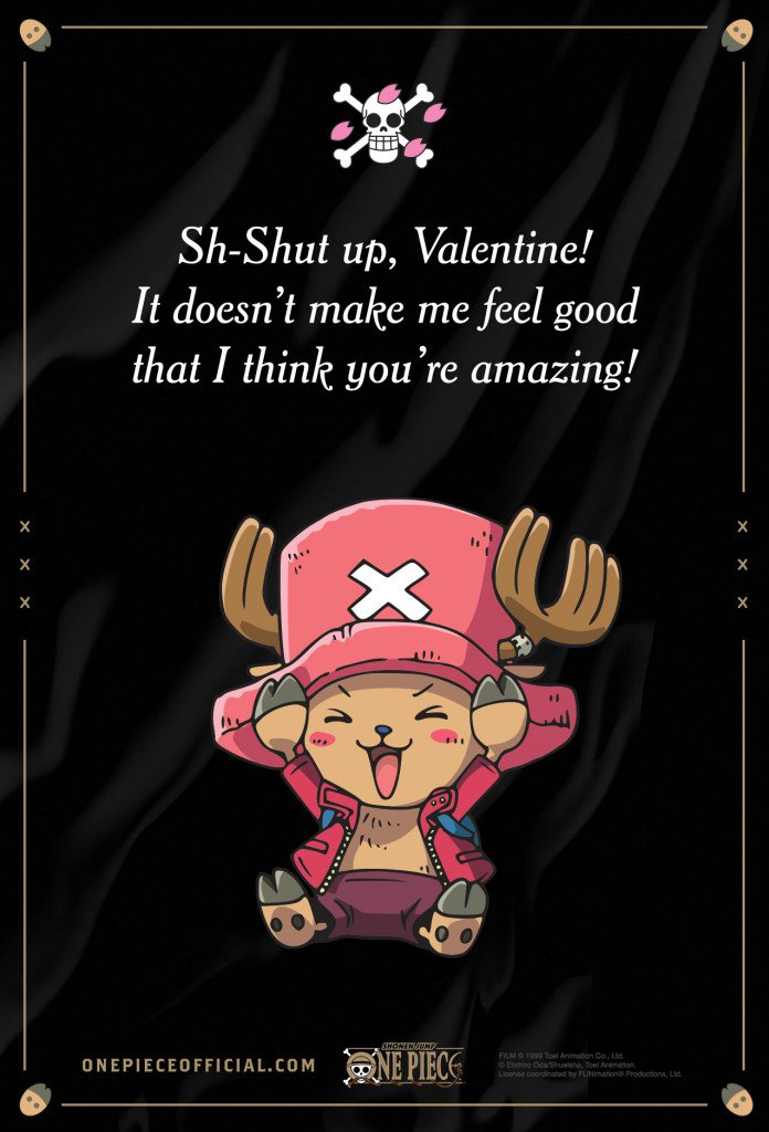 Anime Valentine's Day Cards haruhichan.com One piece
