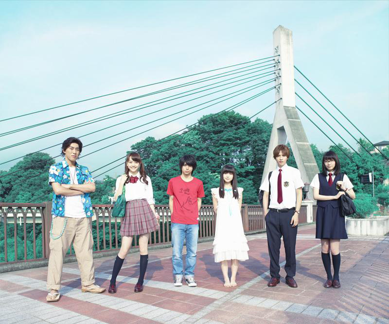 AnoHana television drama visual
