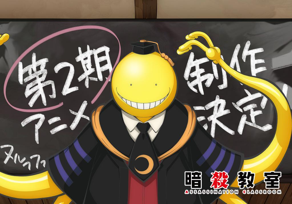 Assassination Classroom 2nd Anime Season & Live-Action Film Sequel Revealed