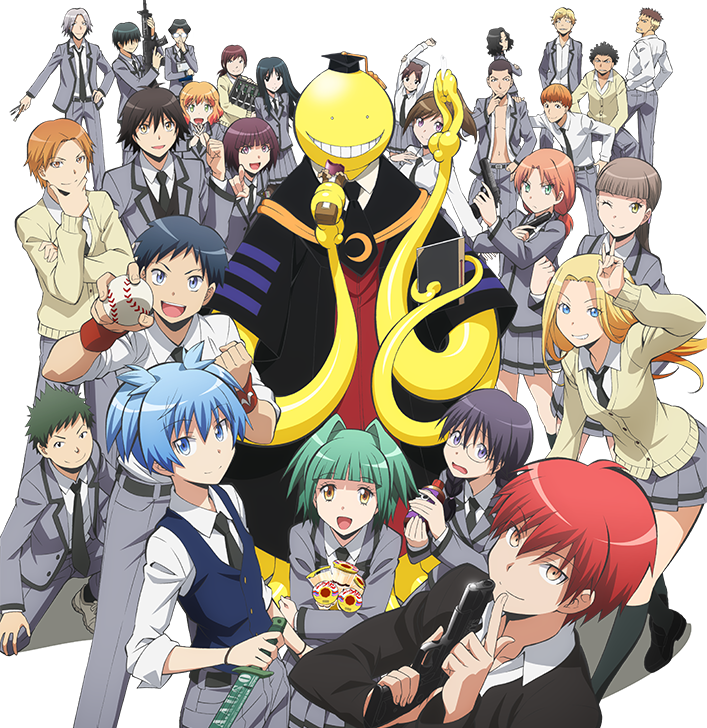 Assassination Classroom Anime Visual haruhichan.com Ansatsu Kyoushitsu Visual