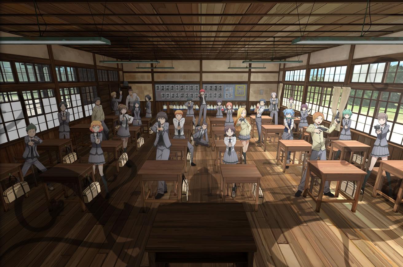 Assassination Classroom Visual 03_Haruhichan.com