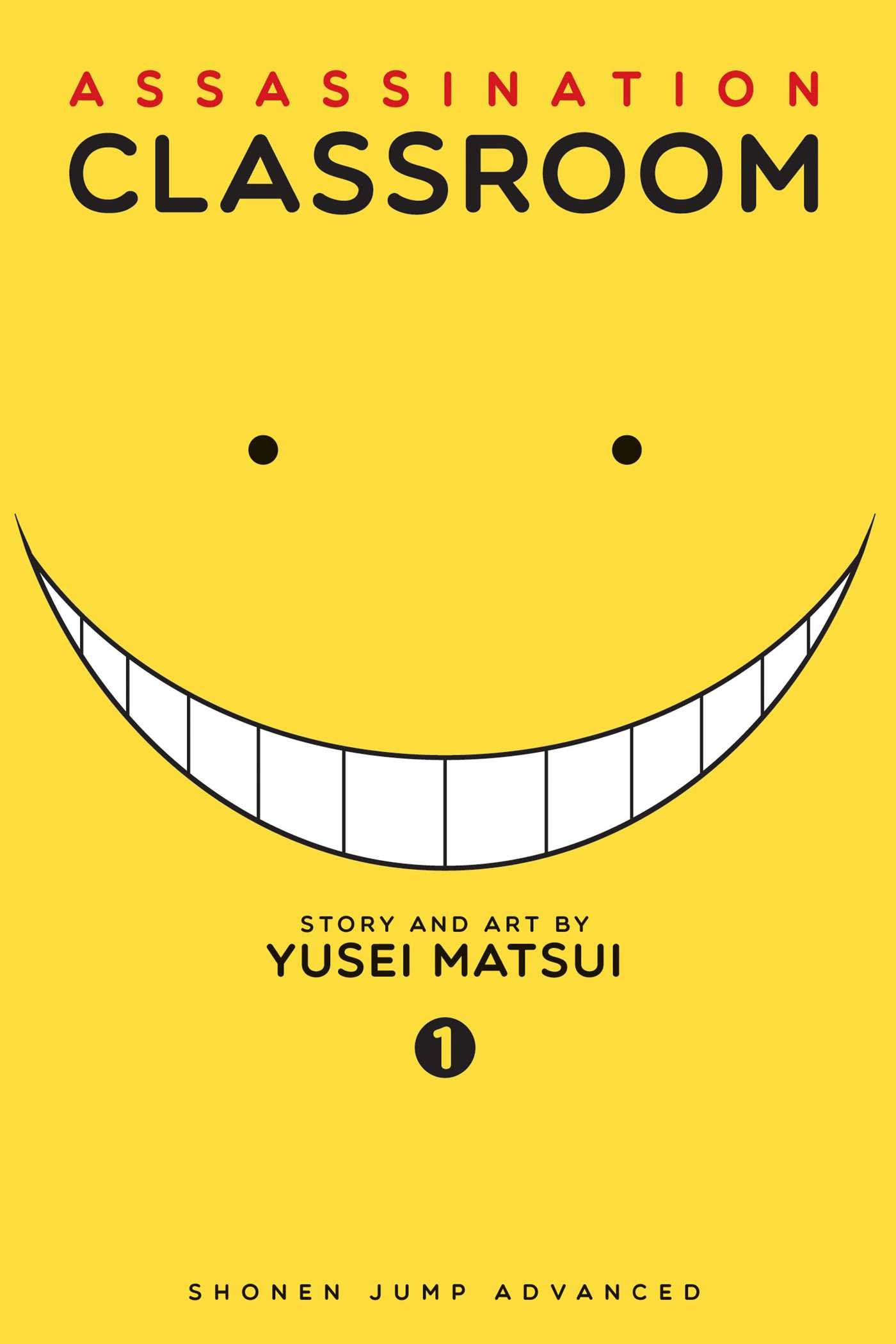Assassination Classroom manga cover volume 1