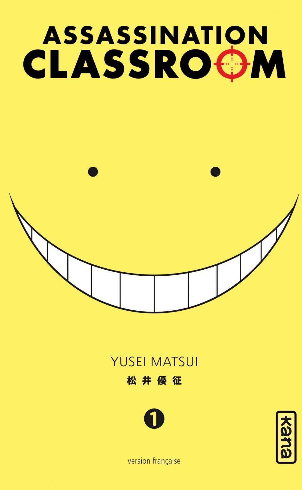 Assassination Classroom manga cover