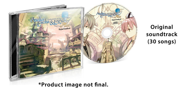 Atelier Escha & Logy Plus Receives a Physical Limited Edition 6