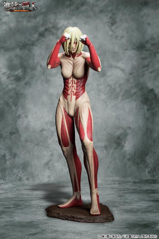 Attack on Titan 90cm Female Titan Figure Previewed 000
