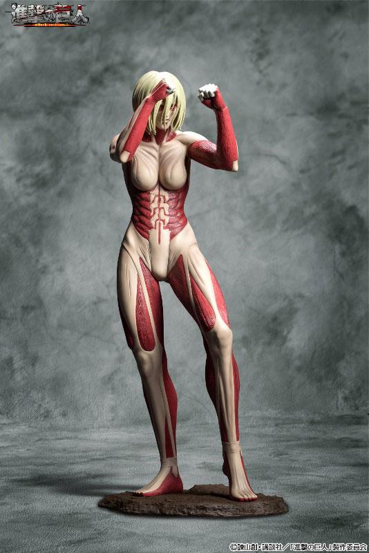 Attack on Titan 90cm Female Titan Figure Previewed 001