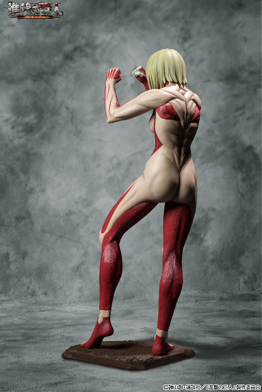 Attack on Titan 90cm Female Titan Figure Previewed 005