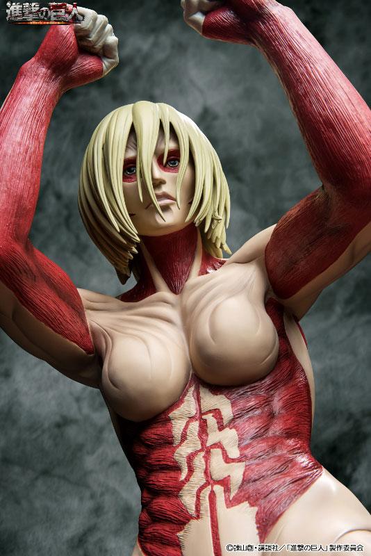 Attack on Titan 90cm Female Titan Figure Previewed 009