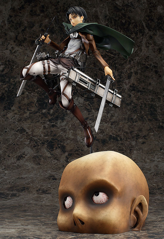 Attack on Titan Levi Anime figure 000