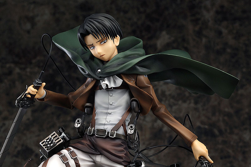 Attack on Titan Levi Anime figure 002
