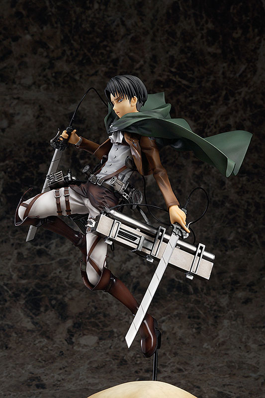 Attack on Titan Levi Anime figure 003