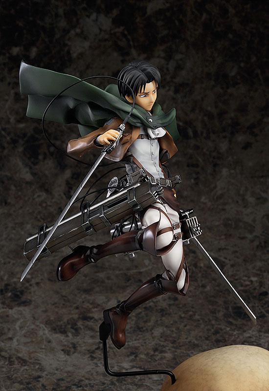 Attack on Titan Levi Anime figure 004