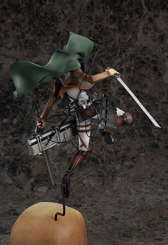 Attack on Titan Levi Anime figure 005