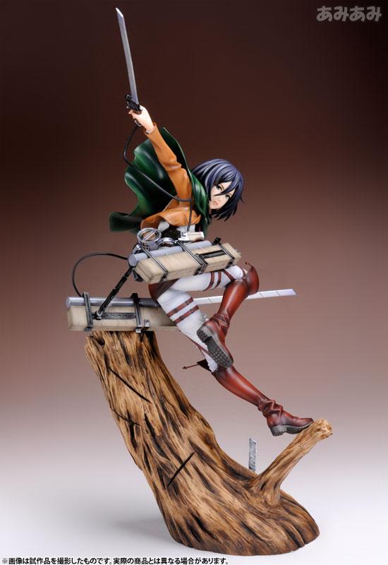 Attack on Titan Mikasa Ackerman 1 8 ARTFX J Figure haruhichan.com shingeki no kyojin mikasa ackerman figure 1