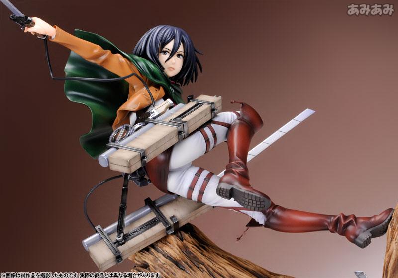 Attack on Titan Mikasa Ackerman 1 8 ARTFX J Figure haruhichan.com shingeki no kyojin mikasa ackerman figure 11
