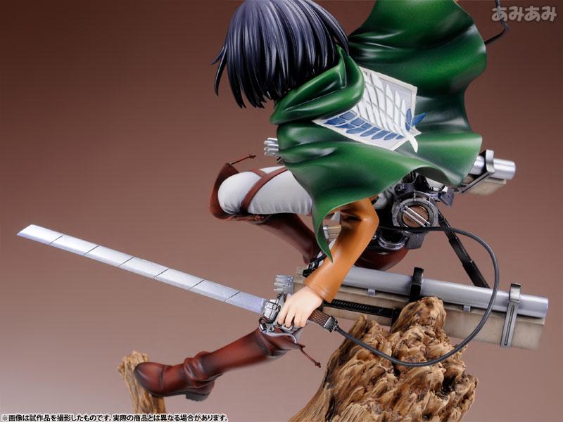Attack on Titan Mikasa Ackerman 1 8 ARTFX J Figure haruhichan.com shingeki no kyojin mikasa ackerman figure 12