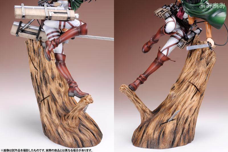 Attack on Titan Mikasa Ackerman 1 8 ARTFX J Figure haruhichan.com shingeki no kyojin mikasa ackerman figure 13