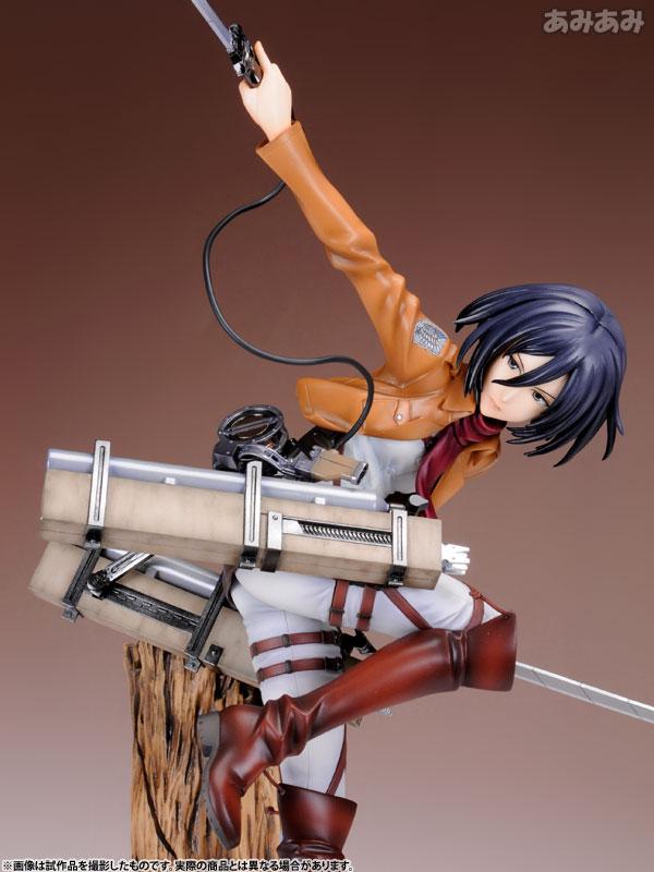 Attack on Titan Mikasa Ackerman 1 8 ARTFX J Figure haruhichan.com shingeki no kyojin mikasa ackerman figure 14