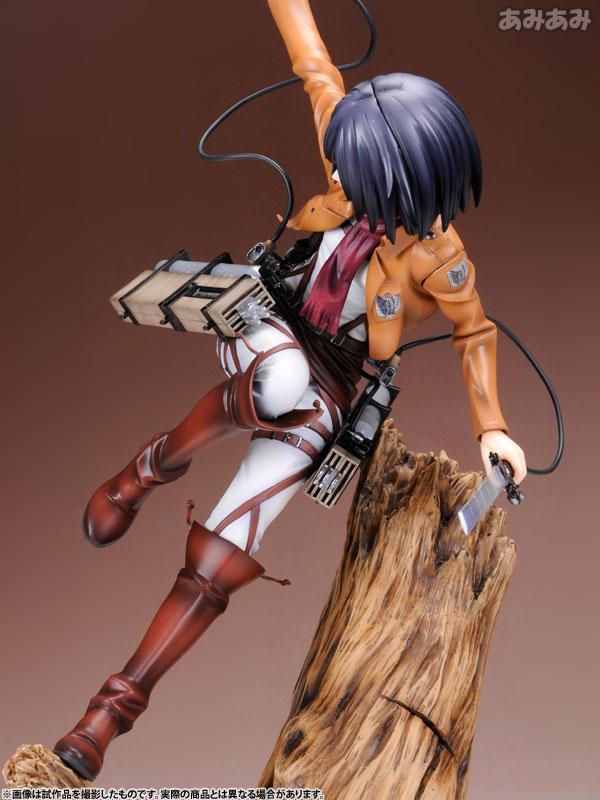 Attack on Titan Mikasa Ackerman 1 8 ARTFX J Figure haruhichan.com shingeki no kyojin mikasa ackerman figure 16