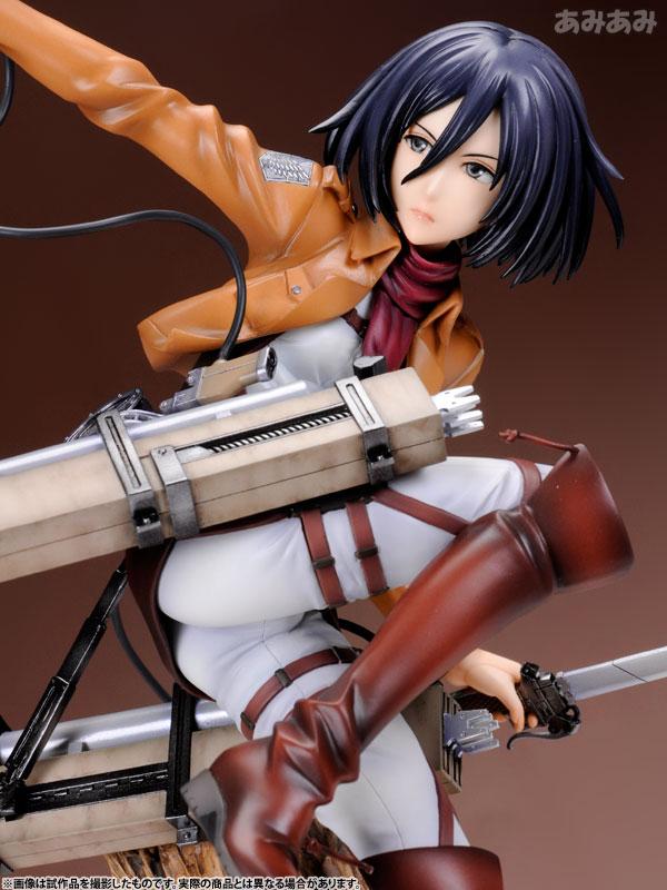 Attack on Titan Mikasa Ackerman 1 8 ARTFX J Figure haruhichan.com shingeki no kyojin mikasa ackerman figure 17
