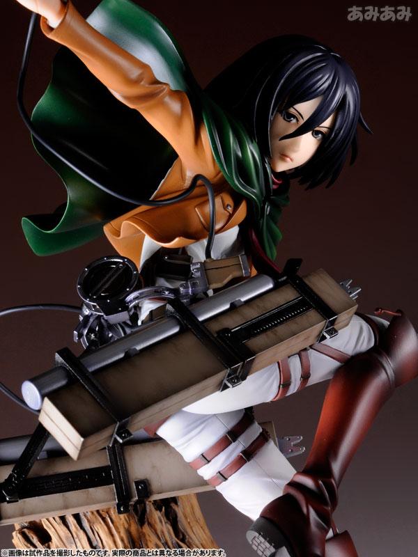 Attack on Titan Mikasa Ackerman 1 8 ARTFX J Figure haruhichan.com shingeki no kyojin mikasa ackerman figure 18