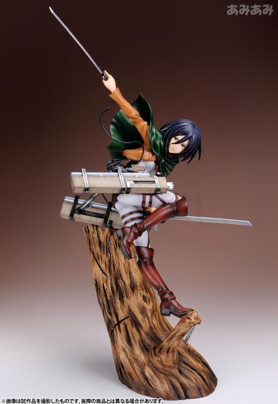 Attack on Titan Mikasa Ackerman 1 8 ARTFX J Figure haruhichan.com shingeki no kyojin mikasa ackerman figure 2