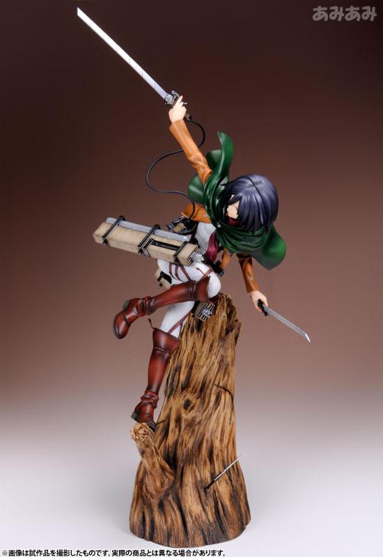 Attack on Titan Mikasa Ackerman 1 8 ARTFX J Figure haruhichan.com shingeki no kyojin mikasa ackerman figure 3