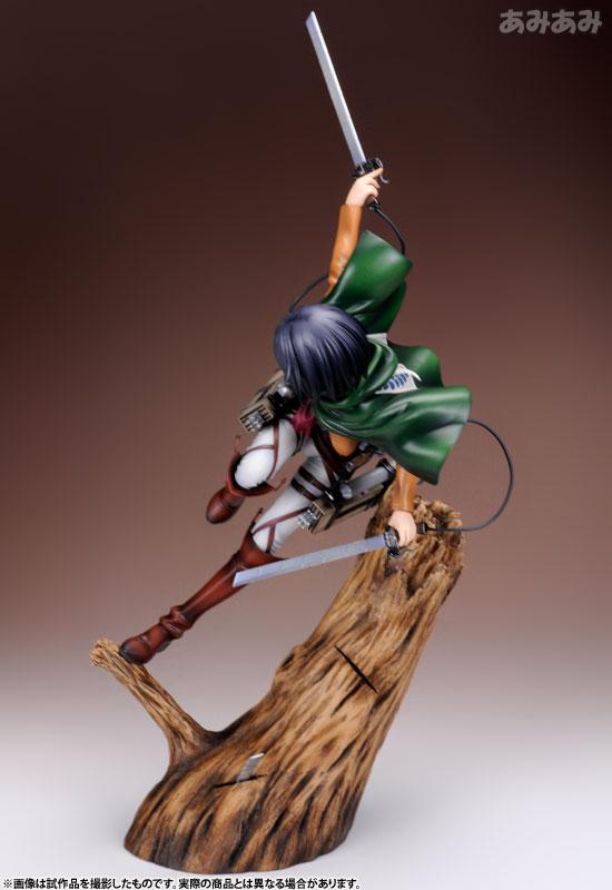 Attack on Titan Mikasa Ackerman 1 8 ARTFX J Figure haruhichan.com shingeki no kyojin mikasa ackerman figure 4
