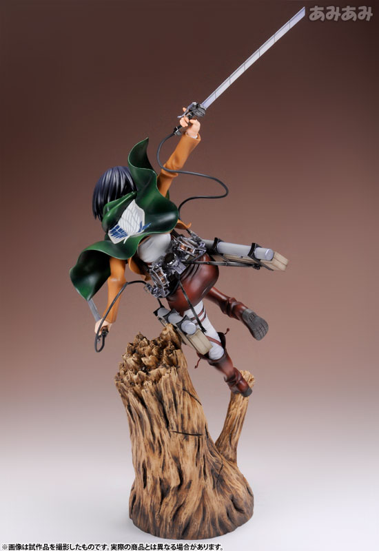 Attack on Titan Mikasa Ackerman 1 8 ARTFX J Figure haruhichan.com shingeki no kyojin mikasa ackerman figure 5