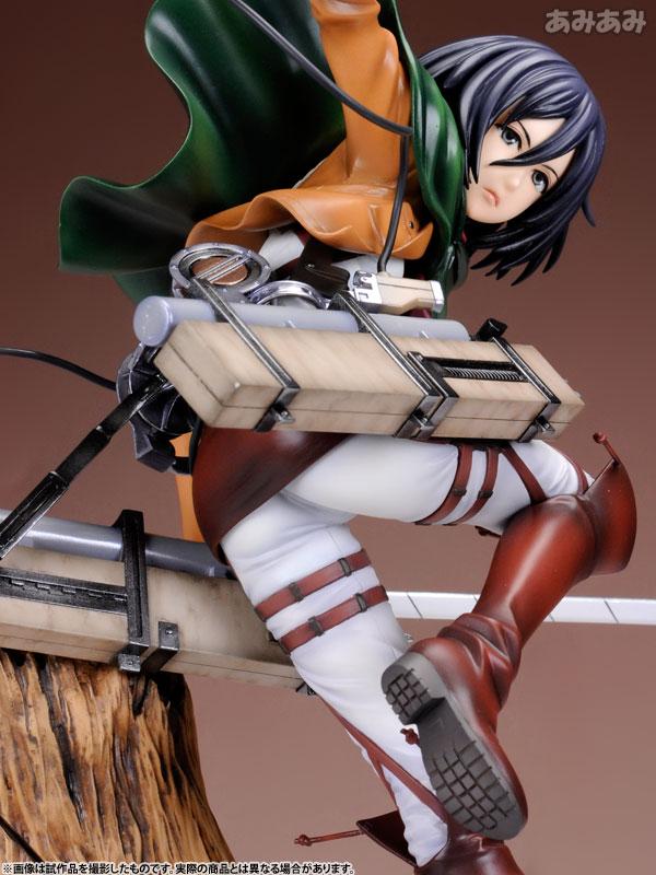 Attack on Titan Mikasa Ackerman 1 8 ARTFX J Figure haruhichan.com shingeki no kyojin mikasa ackerman figure 7