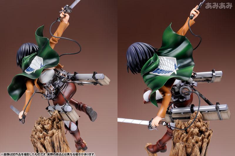 Attack on Titan Mikasa Ackerman 1 8 ARTFX J Figure haruhichan.com shingeki no kyojin mikasa ackerman figure 8