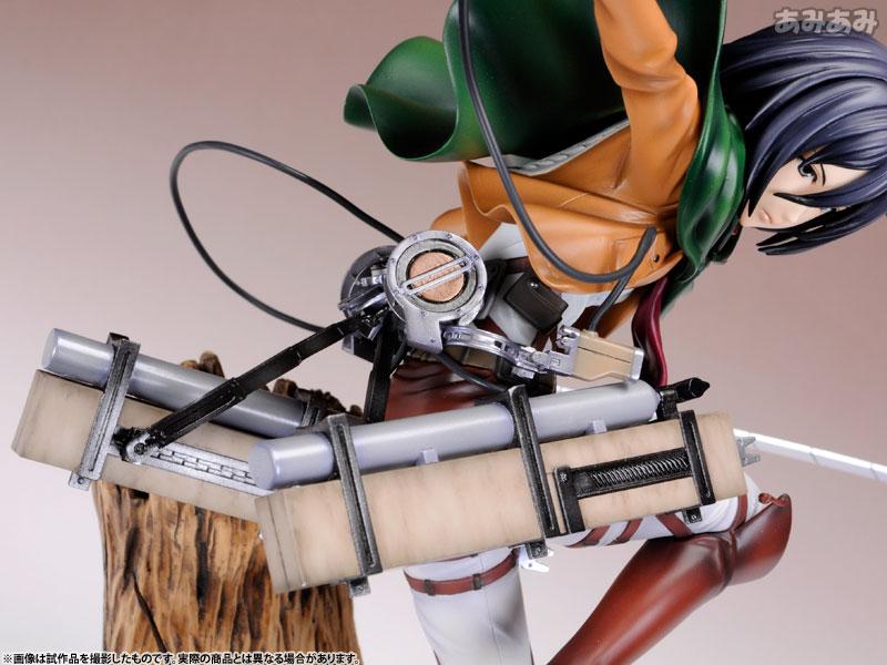Attack on Titan Mikasa Ackerman 1 8 ARTFX J Figure haruhichan.com shingeki no kyojin mikasa ackerman figure 9